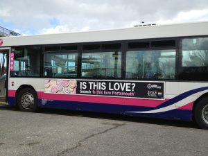 bus wrap is this love